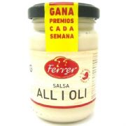 Allioli (Alioli, Spanish Garlic Sauce)